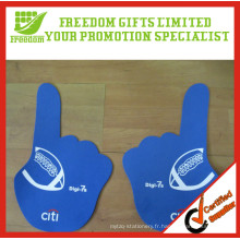 Gant d'acclamation de logo adapté aux besoins du client de la promotion EVA