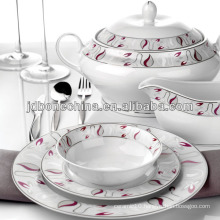 Wholesale - fashionable new simple design bone china espresso tableware set melamine dinnerware