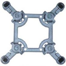 Aluminium Alloy Square Frame Jenis Spacer Dampers