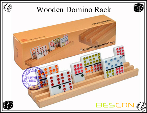 Wooden Domino Rack
