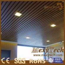 Material de decoración de lugar público, techo de madera Eco 40 * 25 mm