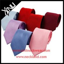 Cravates en soie tissées faites à la main faites sur commande de haute qualité de mens différentes couleurs
