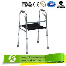 Алюминиевый старомодный Walker с подушкой сиденья из нейлона (CE / FDA / ISO)