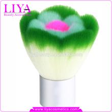 venta caliente venta por mayor de nylon suave pelo kabuki maquillaje cepillo