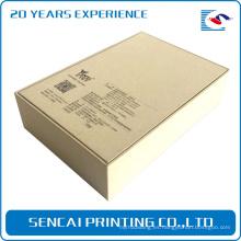 Cajas de cierre de empaquetado elegantes de los productos electrónicos del cartón del color