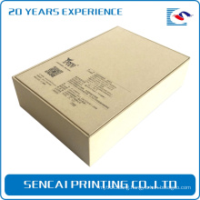 Elegant color paperboard electronic products packaging closure boxes