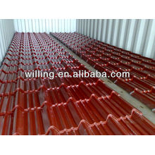 Hot selling colored tile roofing sheet steel roof sheet metal tile roof sheet OEM service
