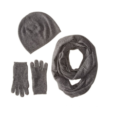 PK18A26HX Women's Cashmere Gift Box Set- Hat,Gloves,Scarf