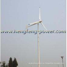 Turbina de viento de eje horizontal de nuevo conjunto 3kw CE aprobado