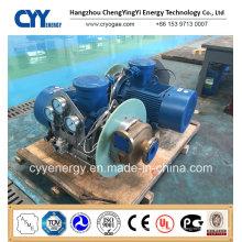 Pompe centrifuge à l'huile d'argon à base d'oxygène liquide cryogénique à l'azote et à l'azote