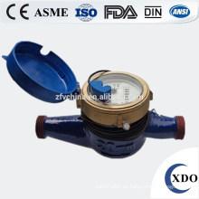 Multi-Jet-Vane Rad trocken-Dial Pulse Wasserzähler