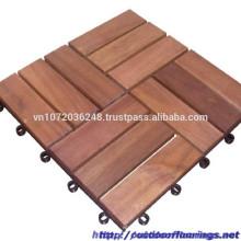 Plancher en bois au meilleur prix pour l'année nouvelle, Haute qualité du Vietnam