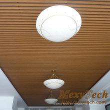 Paneles de pared Mexytech Techo de madera ligero