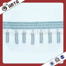 2014 New Product Polyster Beaded Fringe For Curtain Decorative Beaded Trims