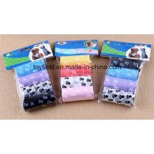 Haustier-Abfallbeutel-Plastik HDPE Hundehaustier-Poop-Beutel
