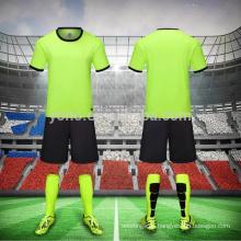 El jersey de encargo del jersey del fútbol de los jerseys de fútbol de calidad superior del equipo nacional más nuevo 2017 fija la ropa barata del fútbol