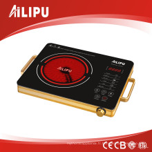 Certification CE / CB et boîtier en aluminium Big Plate Infrared Cooker