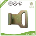Narrow Flat Tie Down Hook With Abrasion Clip