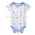 Chinesische Versorgung Baby Jungen Newborn Cartoon Strampler Kleidung Bodysuit Overall Sets Infant Stripe Outfit Strampler Baby Kleidung