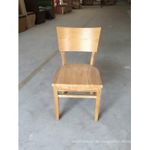 Umweltfreundliches benutztes Restaurant-dauerhaftes festes Holz, das Stühle speist