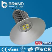 Garantía de 5 años Cubierta de aluminio LED Luz alta de la bahía, luz de la bahía de 150w LED alta