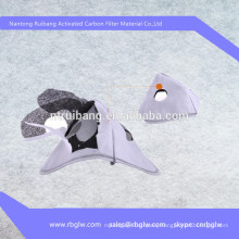 first hand manufacture activated carbon ACF felt acid-gas-removal