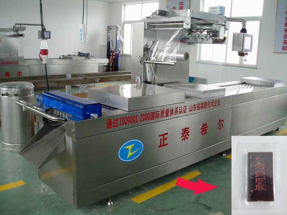 Fish Fillet Stretch Film Automatic Packing Machine
