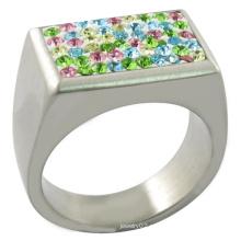 Много цветов Яркий кристалл кольцо