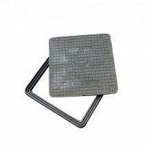 square ductile iron manhole cover Hinged manhole cover