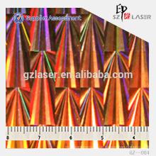 Hologramm Nickel Mater / Platte, zum Prägen von Hologrammaufkleber, Folie, Beutel usw