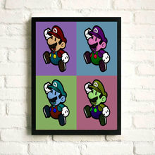 Pop Super Mario Game Poster prints