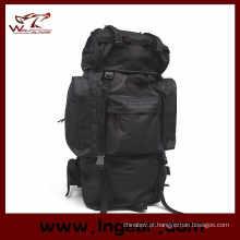 Grande capacidade 65L combate Camping mochila para caminhadas saco militar