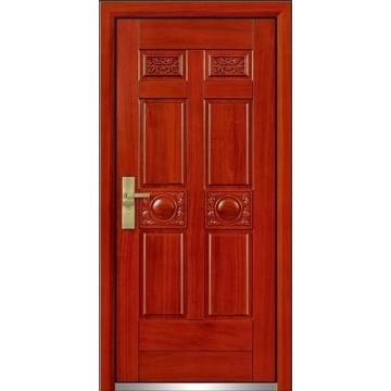 Porta de madeira aço com alta qualidade