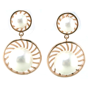 New Design for Fashion Woman′s Pearl Earring 925 Silver Jewelry (E6530)