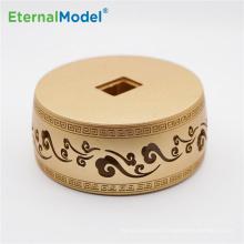 EternalModel  OEM service CNC milling aluminum box according to 2D 3D drawing in Dongguan