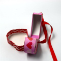 Custom Luxury Valentine Halsband Heart Shape Box