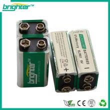 Batterie alcaline 9v 6lr61 Batterie 6am6 6f22 9v