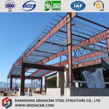 Construção de estrutura de aço da Peb Warehouse Shed