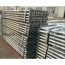 U-Head or Plain Head Galvanized Steel Prop
