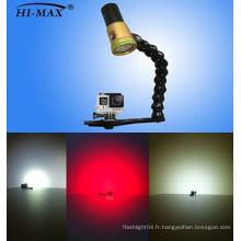 Lumière vidéo / photographie à LED sous-marine avec CE