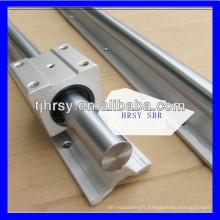 Alimentation SBR rondelle Rail de guidage linéaire et bloc SBR12