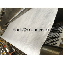Composited Geogrid with Nonwoven Cloth