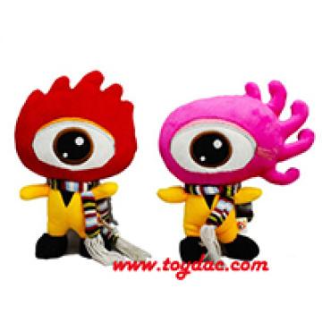 Plush Color Doll Company Mascot