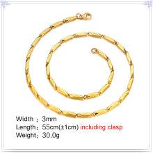 Moda jóias colar de moda corrente de aço inoxidável (sh054)