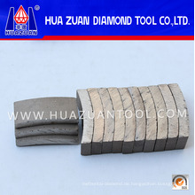 Huazuan 2016 Diamond Core Bit Segment für verstärkten Beton