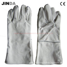 Cowhide Leather Welding Work Gloves (L014)