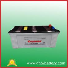 Batterie rechargeable N150 de pile sèche de batterie résistante standard de batterie de véhicule de JIS