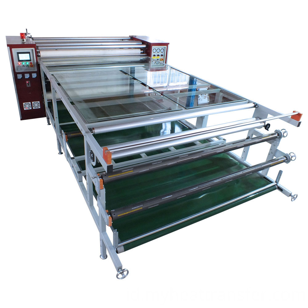 Heat transfer roller machine