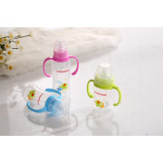 9oz PP Baby Milk Nursing Bottle With Handle