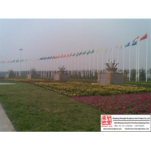 Company Stainless Steel Flagpole
